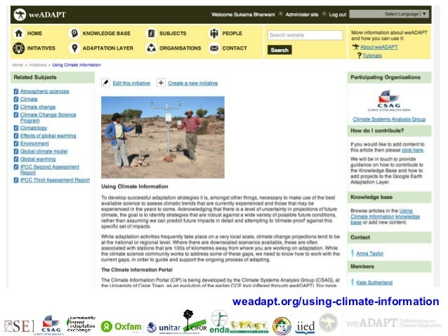 +    weadapt.org/using-climate-information