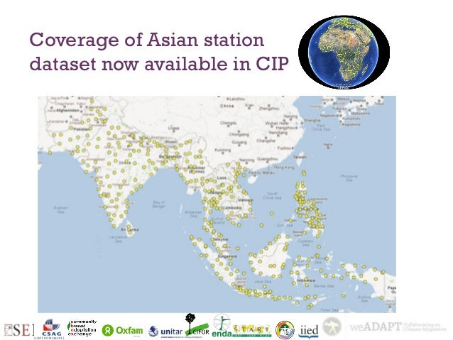 Coverage of Asian stationdataset now available in CIP