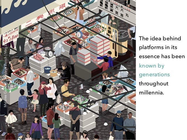 The idea behind platforms in its essence has been known by generations throughout millennia. MelanieGabriel APIdaysZurich ...