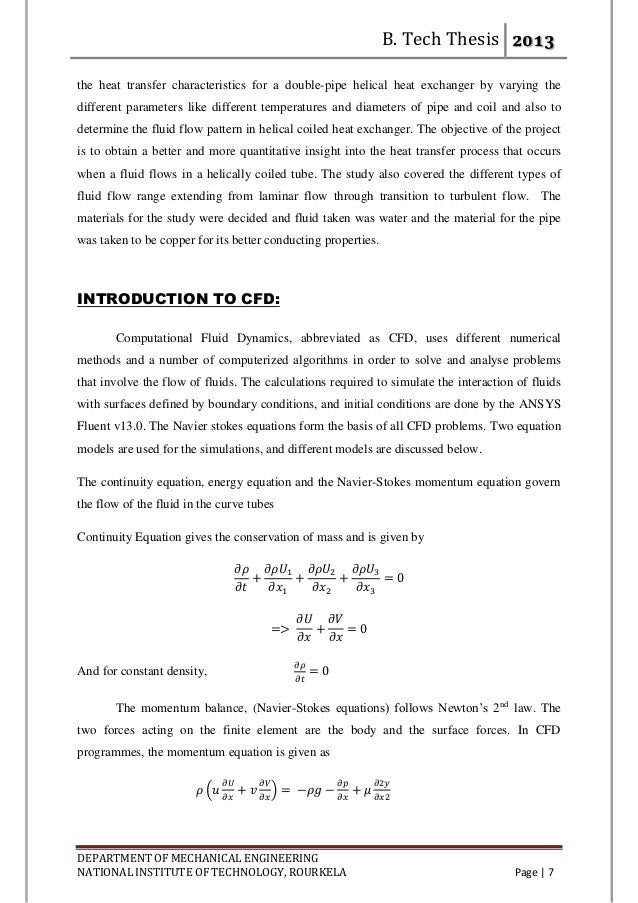 thesis helical coil heat exchanger Studies on helical coil heat exchanger gvsk reddy p 1 p, krama krishna raju p 2 p , j divya lakshmi p 3 p, p of helical coil heat transfer equipment by.