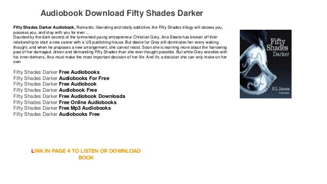 Audiobook Free Online Free Fifty Shades Darker