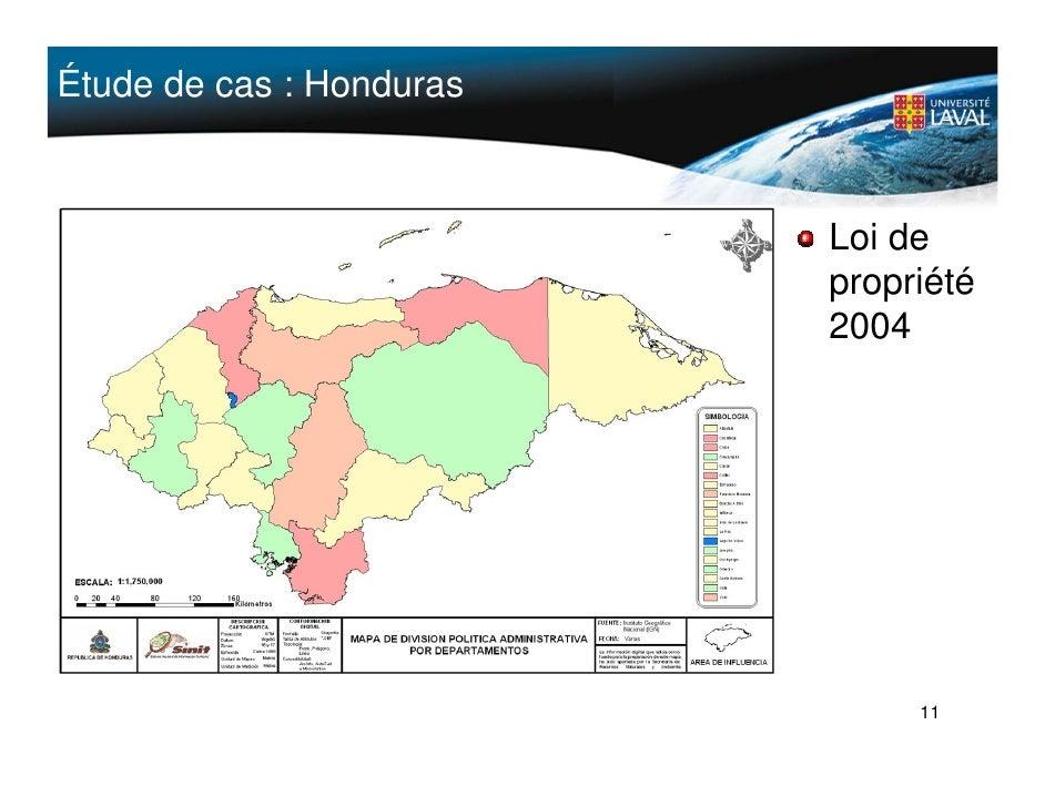 Étude de cas : Honduras                              Loi de                           propriété                           ...