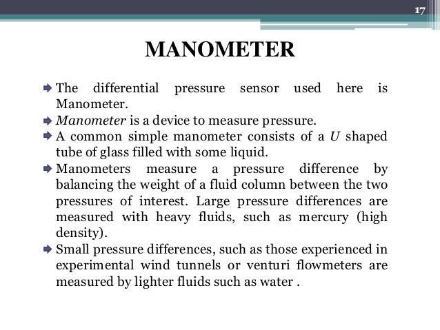 USES OF MANOMETERS EBOOK