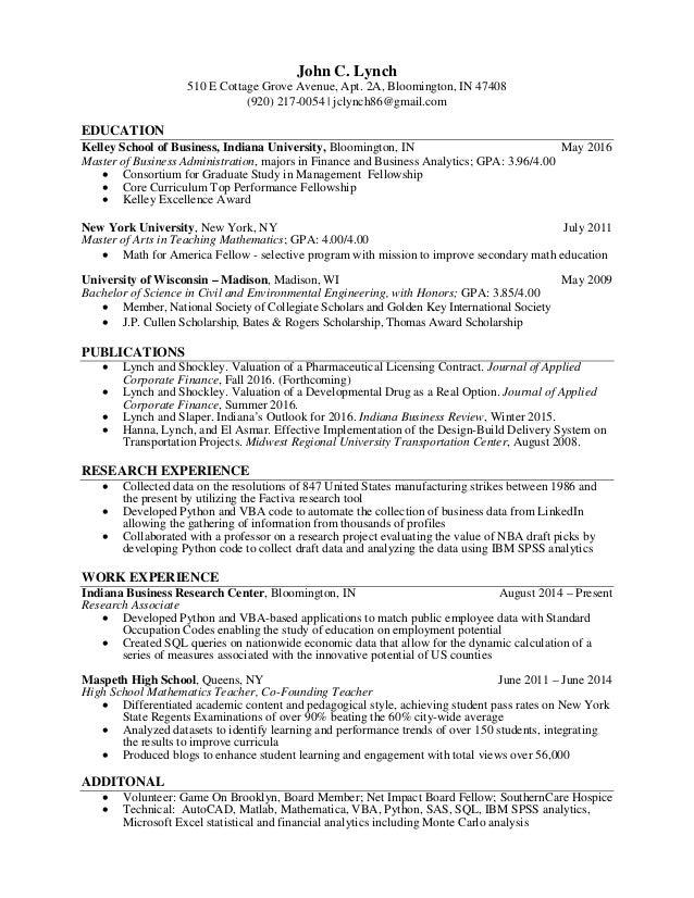 Lynch_John Resume 10-10-16