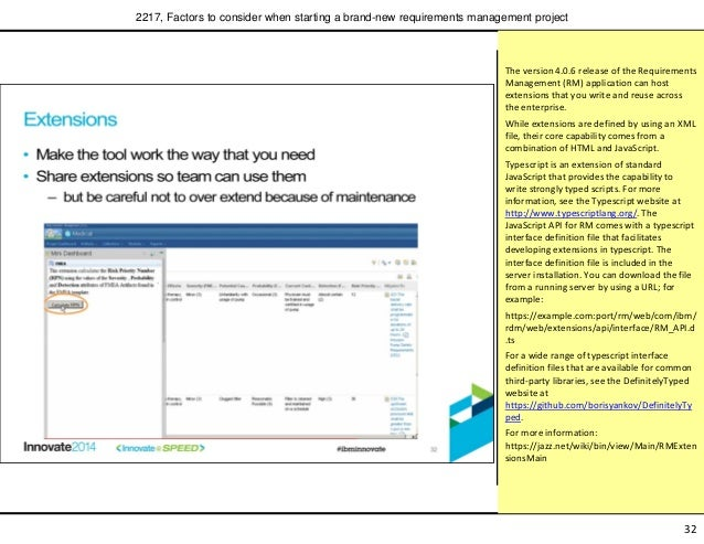 ... requirements management project; 33.  sc 1 st  SlideShare & Factors to consider when starting a brand-new requirements managementu2026