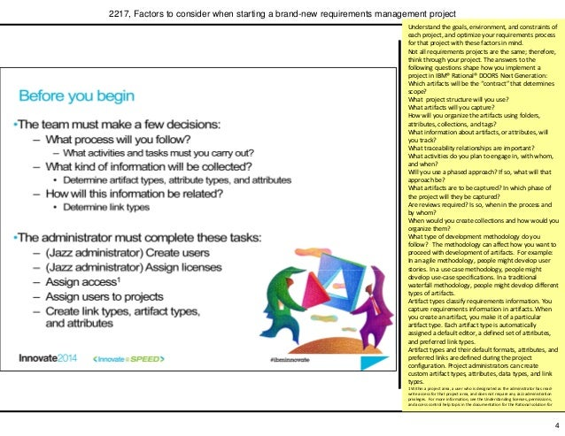 ... requirements management project; 5.  sc 1 st  SlideShare & Factors to consider when starting a brand-new requirements managementu2026 pezcame.com