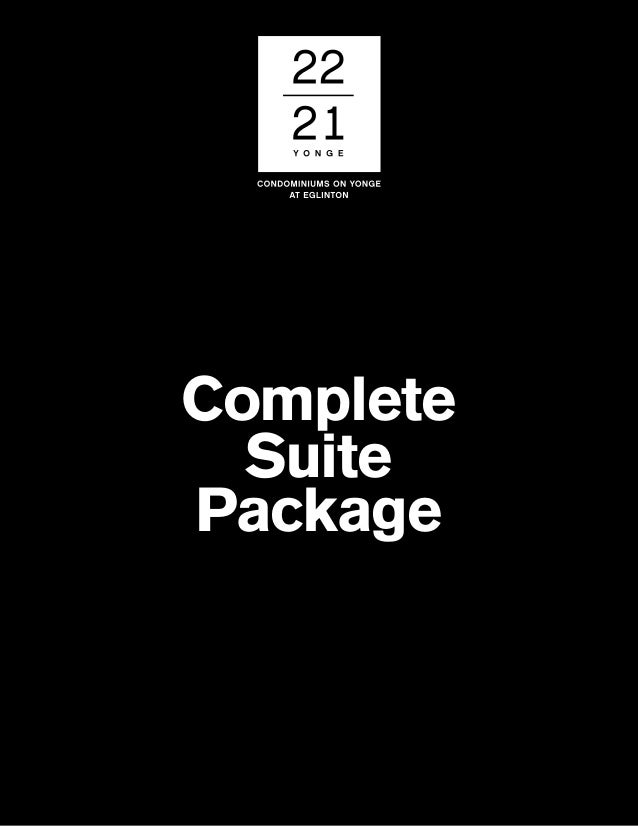 Complete Suite Package