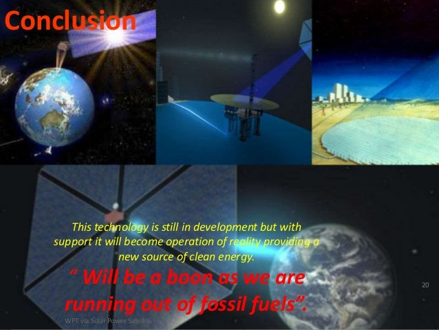 Conclusion of solar and wind energy