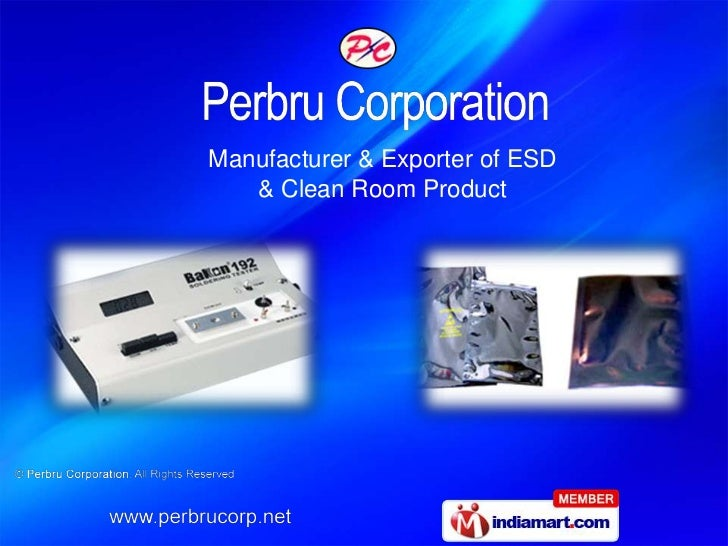 Manufacturer & Exporter of ESD   & Clean Room Product