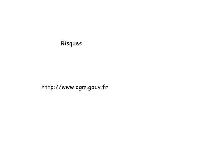 Conference OGM Mounier