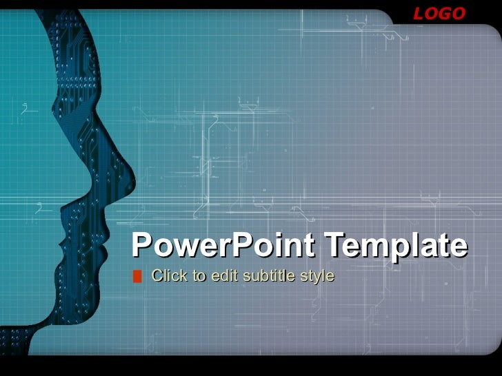 PowerPoint Template Click to edit subtitle style