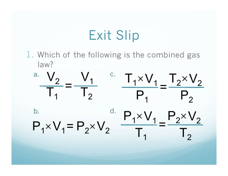 ... combined gas law? Simulation! 30.