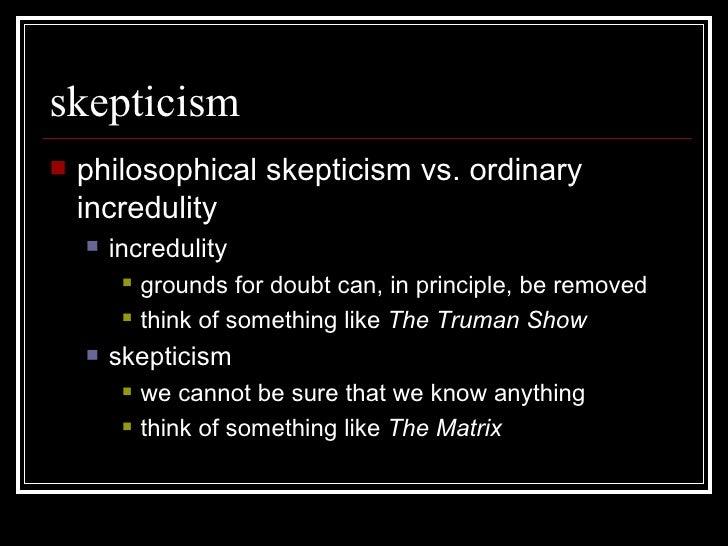 Pyrrhonian Skepticism