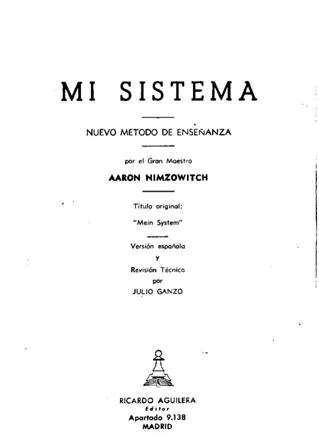 Mi Sistema Nimzowitch Pdf