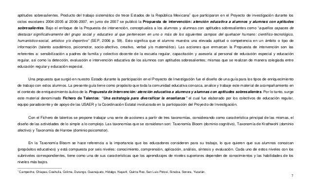 7 aptitudes sobresalientes. Producto del trabajo sistemático de trece Estados de la República Mexicana1 que participaron e...