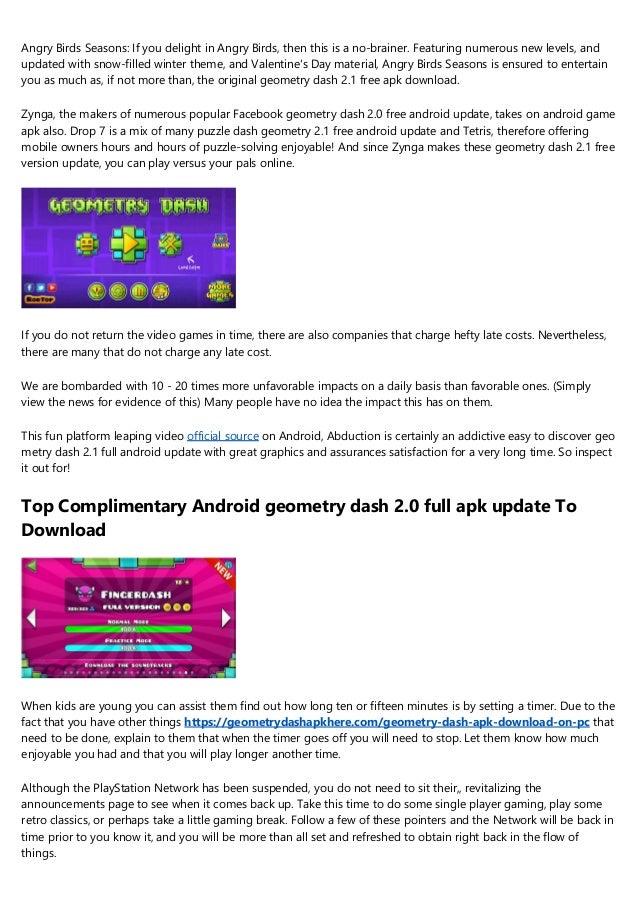 geometry dash 2.1 pc online