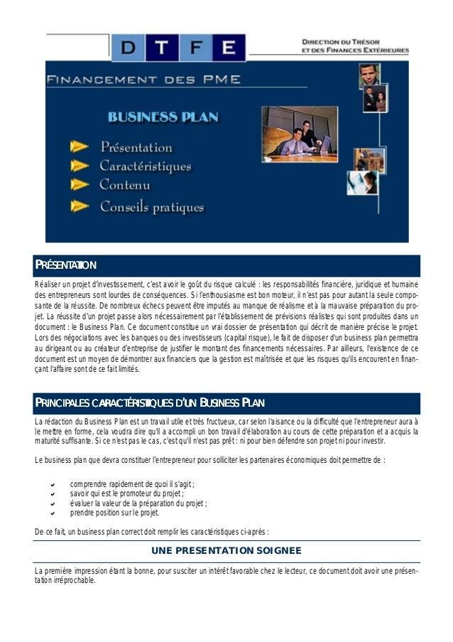 PRÉSENTATIONRéaliser un projet d'investissement, c'est avoir le goût du risque calculé : les responsabilités financière, j...