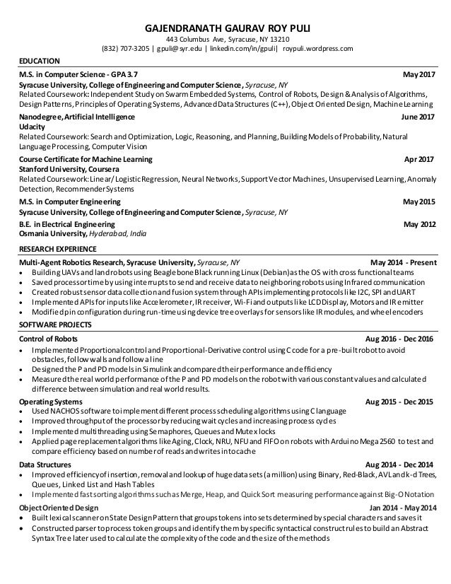 RESUME-2page