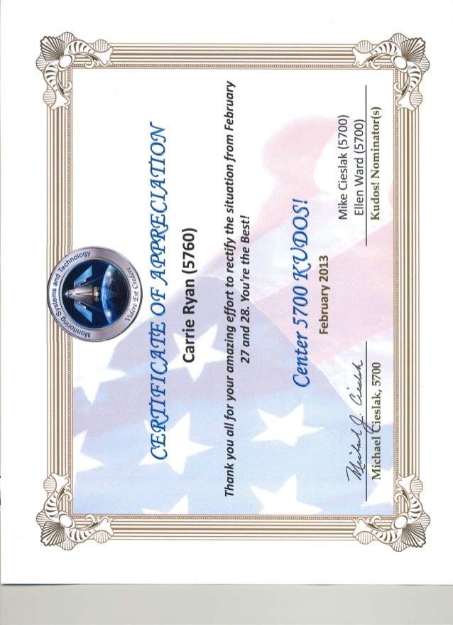 Carrie Ryan 5700 Kudos Award