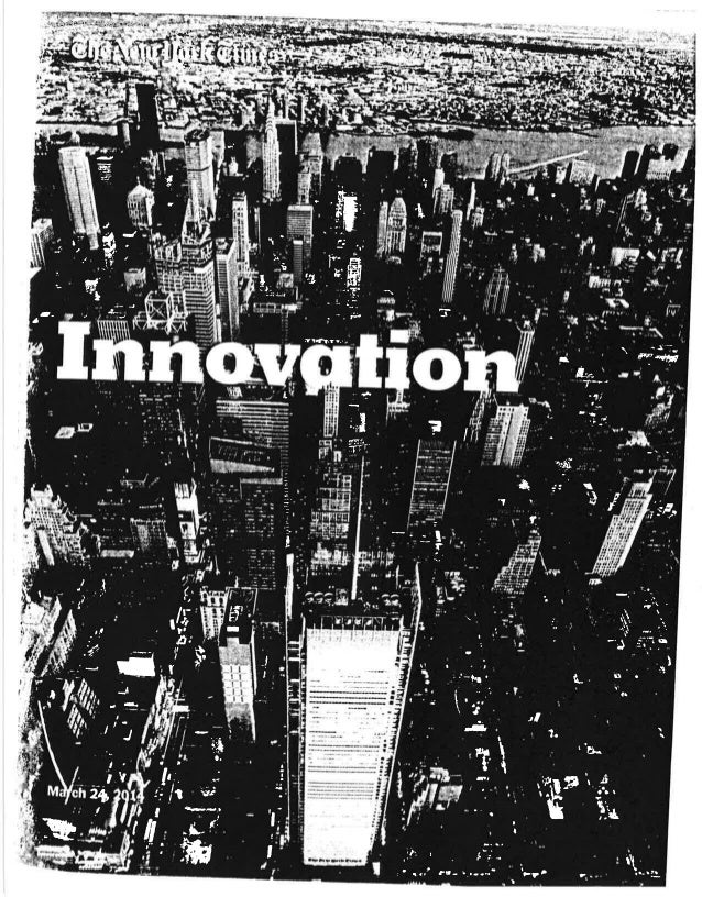 New York Time Innovation Report 2014