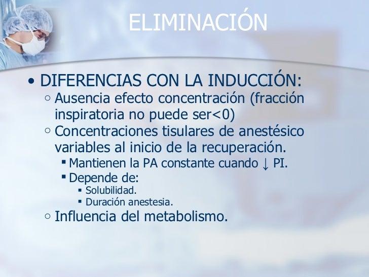 ELIMINACIÓN <ul><ul><li>DIFERENCIAS CON LA INDUCCIÓN: </li></ul></ul><ul><ul><ul><li>Ausencia efecto concentración (fracci...