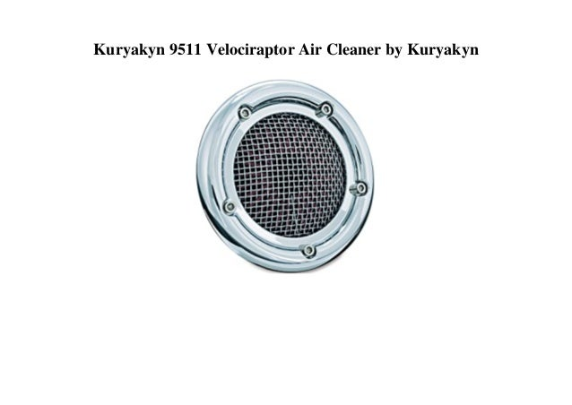 Kuryakyn 9511 Velociraptor Air Cleaner by Kuryakyn