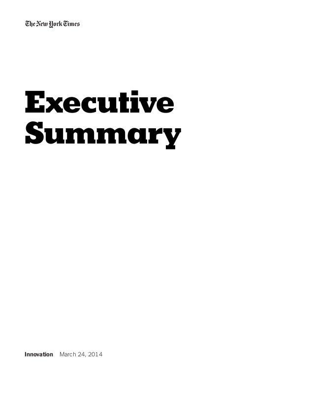 The New York Times Innovation Report Slide 2