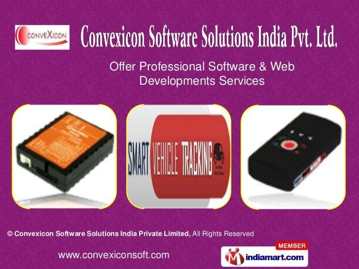 Offer Professional Software & Web                                    Developments Services© Convexicon Software Solutions ...