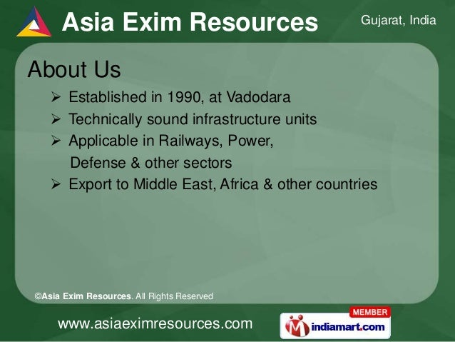 Pharmaceutical Autoclaves and Ferro Alloys By Asia Exim Resources, Vadodara Slide 2