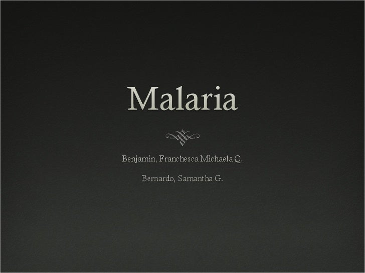 Definition Malaria is a mosquito-borne disease  that causes over 2.7 million deaths per  year according to estimates by t...