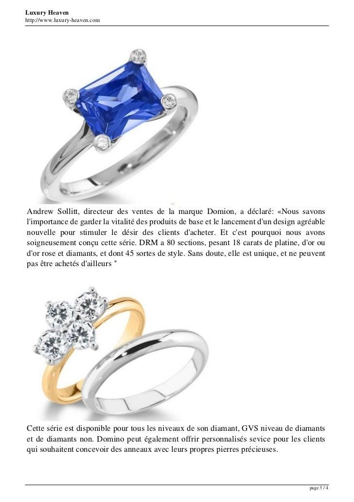 Luxury Heavenhttp://www.luxury-heaven.comAndrew Sollitt, directeur des ventes de la marque Domion, a déclaré: «Nous savons...