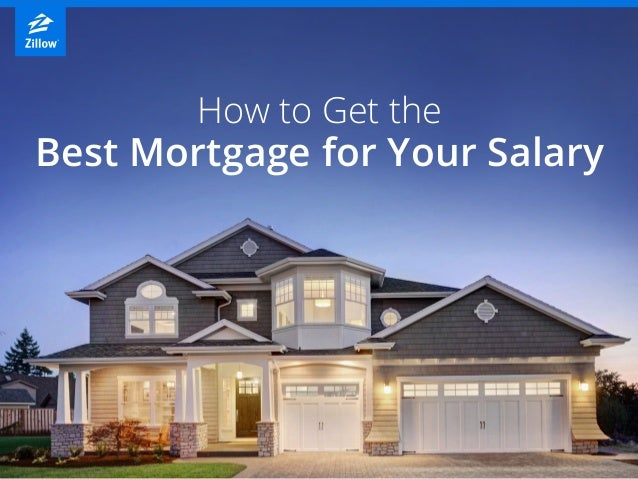 How to Get the Best Mortgage for Your Salary