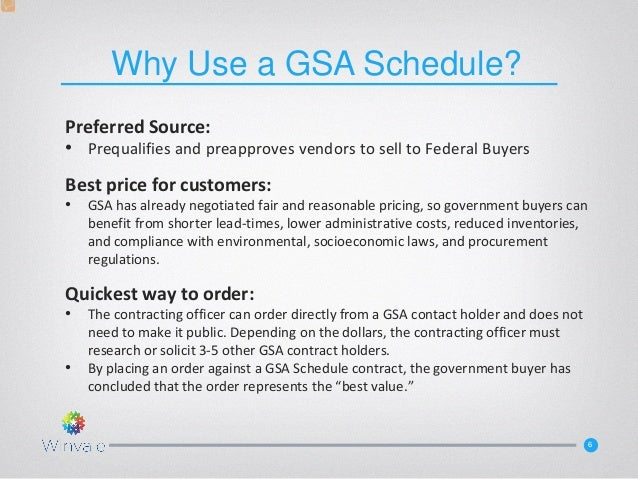Having A Gsa Schedule Is More Important To Your Government Practice T