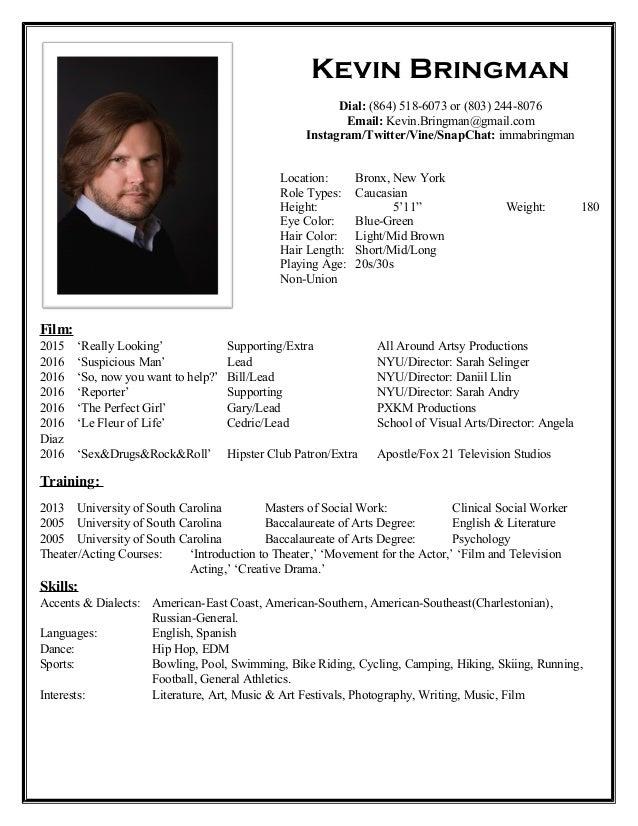 resume