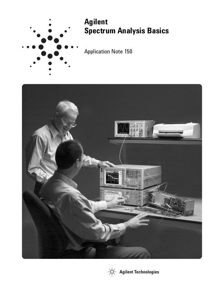 AgilentSpectrum Analysis BasicsApplication Note 150