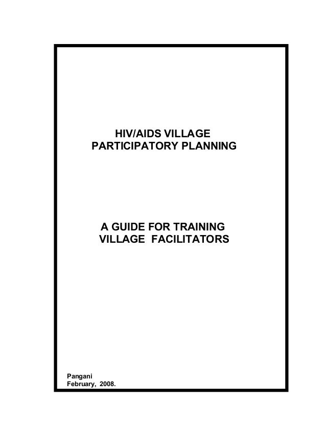 training guide for village facilitators rh slideshare net facilitator's guide skype for business facilitator's guide template