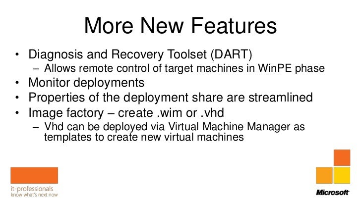 Deployment Day Session 1: Introduction to MDT 2012