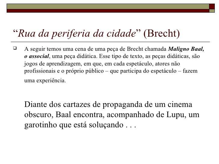 22626045  Teatro  Epico  Bertolt  Brecht Slide 3