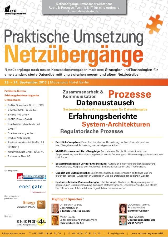 Netzübergänge nach neuen Konzessionsvergaben meistern: Strategien und Technologien für eine standardisierte Datenübermittl...