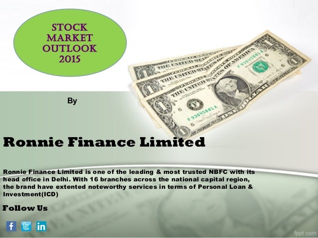 Ronnie Finance Limited Ronnie Finance Limited is one of the leading & most trusted NBFC with its head office in Delhi. Wit...
