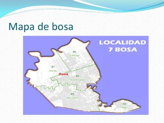 Mapa de bosa
