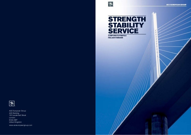 ace eurOPean grOuP                                Strength                            Stability                           ...