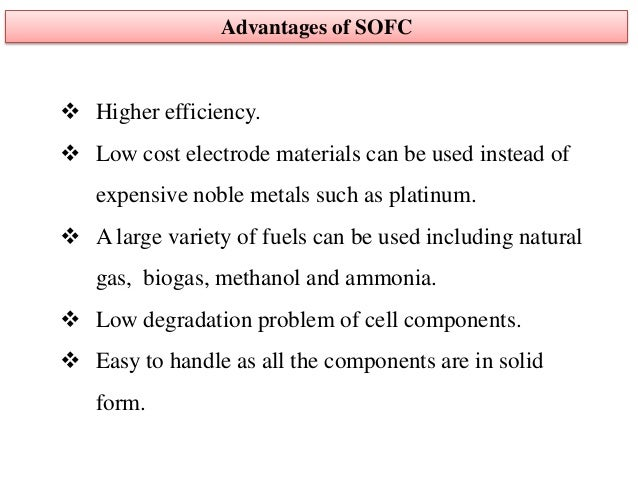 an introduction to the analysis of solid oxide fuels Direct oxidation of hydrocarbon fuels for solid oxide  powerpoint slideshow about 'direct oxidation of hydrocarbon fuels for solid  detection and analysis of.