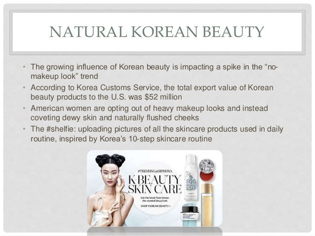 ... and many more; 7. NATURAL KOREAN BEAUTY ...