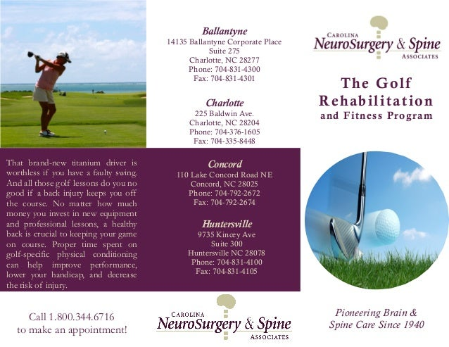 Pioneering Brain & Spine Care Since 1940 Charlotte 225 Baldwin Ave. Charlotte, NC 28204 Phone: 704-376-1605 Fax: 704-335-8...