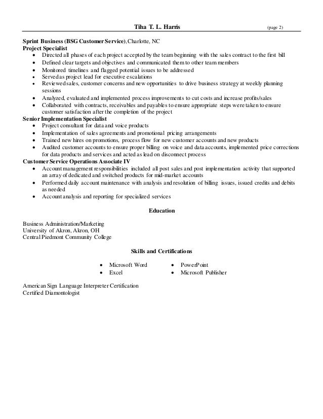 Customer Service Manager Resume Templates  Customer Service And Sales Resume