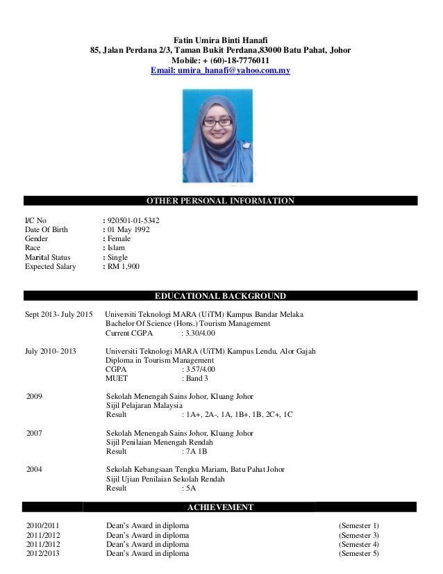 my resume jobstreet baru pdf