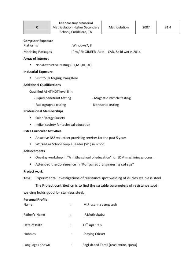 Prasana Resume Design Engineer