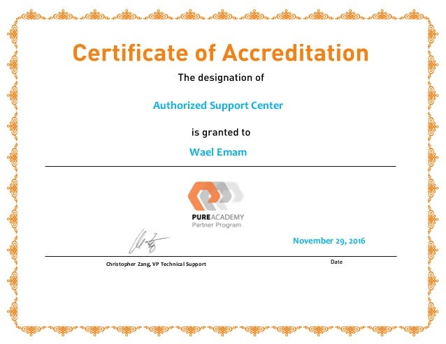 Authorized Support Center Asc Certification