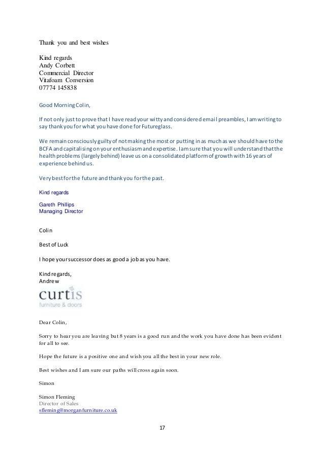 Colin Watson Letters
